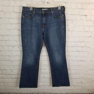 Levi Womans Jeans 529 Curvey Boot Cut